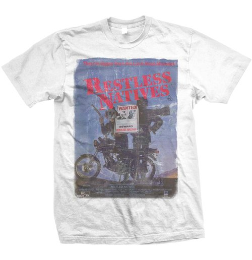 Studiocanal - Restless Natives White (T-SHIRT Unisex )