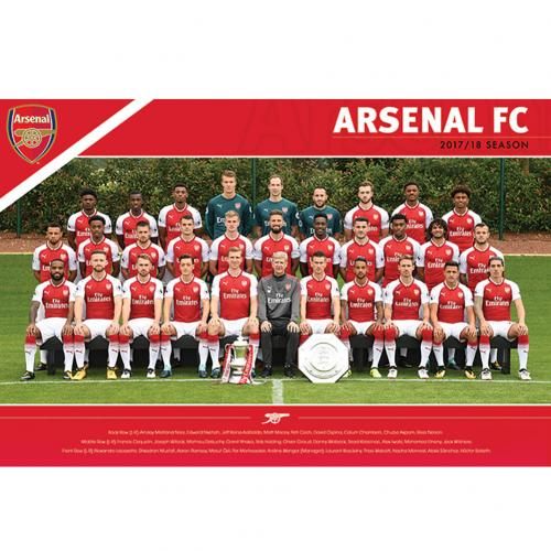Poster Arsenal Squad 35