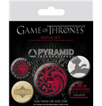 Game Of Thrones - Fire And Blood (Pin Badge Pack)