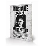 Harry Potter - Undesirable No1 (Stampa Su Legno 59X40Cm)