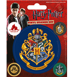 Harry Potter - Hogwarts (Set Adesivi 12,5X10 Cm)
