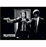 Pulp Fiction - Guns (Stampa In Cornice 30X40 Cm)