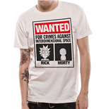 Rick And Morty - Wanted (T-SHIRT Unisex )
