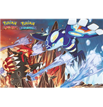 Pokemon - Groudon And Kyogre (Poster Maxi 61x91,5 Cm)