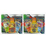 Pokemon - Blister 2 Buste Pokemon Sole e Luna Guardini Nascenti + Moneta + 3 Carte Promo