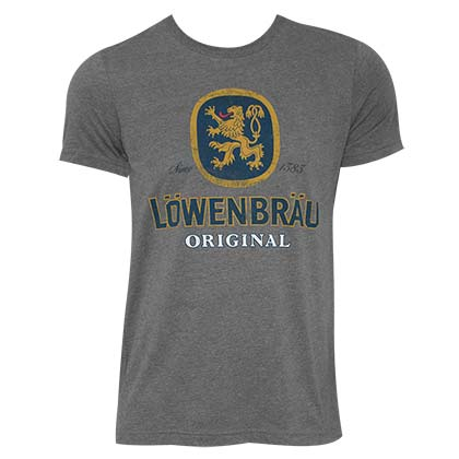 T-shirt Lowenbrau da uomo