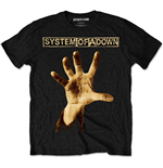 System Of A Down - Hand (T-SHIRT Unisex TG. 2)