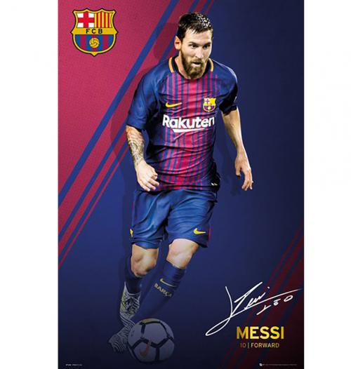 Poster Barcellona Messi 55