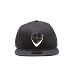 Fender - Black Snapback With Metal Badge Snapback (Cappellino)