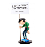 Plastoy 315 - Gaston Lagaffe - Gaston Con Cartello Vietato (Limited Anniversary Edition)