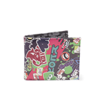 Nintendo - Splatoon 2 Logo'S Bifold Zip Around Black (Portafoglio)
