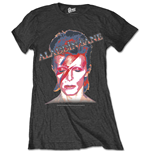 T-shirt David Bowie da donna - Design: Aladdin Sane