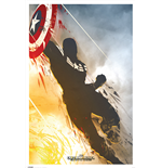 Captain America - Winter Soldier (Poster Maxi 61X91,5 Cm)