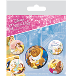 Beauty And The Beast (Classic) (Badge Pack)