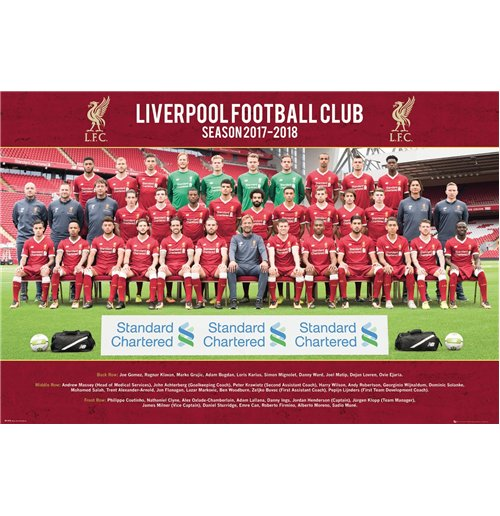 Liverpool - Team Photo 17/18 (Poster Maxi 61x91,5 Cm)
