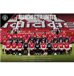 Manchester United - Team Photo 17/18 (Poster Maxi 61x91,5 Cm)