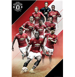 Manchester United - Players 17/18 (Poster Maxi 61x91,5 Cm)