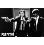 Pulp Fiction - B&W Guns (Poster 100X140 Cm)