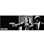 Pulp Fiction - B&W Guns (Poster Da Porta 53X158 Cm)