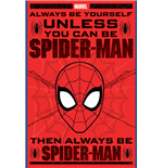 Spider-Man - Always Be Yourself (Poster Maxi 61X91,5 Cm)