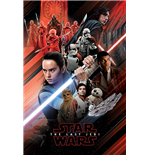 Star Wars The Last Jedi - Red Montage (Poster Maxi 61X91,5 Cm)