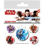 Star Wars The Last Jedi - Icons (Badge Pack)