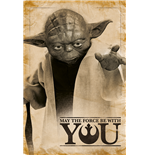 Star Wars - Yoda, May The Force Be With You (Poster Maxi 61X91,5 Cm)