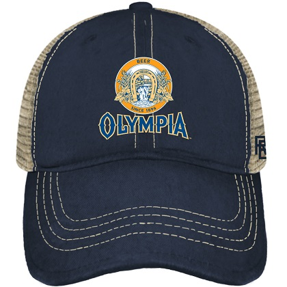 Cappellino Olympia Beer