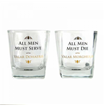 Game Of Thrones - All Men Tumbler (Set 2 Bicchieri)