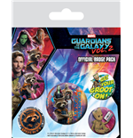 Guardians Of The Galaxy 2 (Rocket & Groot) (Badge Pack)