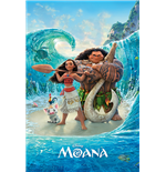 Moana - Magical Sea (Poster Maxi 61X91,5 Cm)