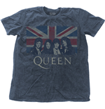 Queen - Vintage Union Jack (T-SHIRT Unisex )