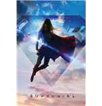 Supergirl - Clouds (Poster Maxi 61X91,5 Cm)