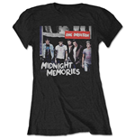 T-shirt One Direction Midnight Memories da donna