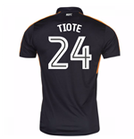 Maglia Newcastle Falcons 2016-2017 Away (Tiote 24)