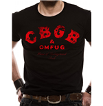 Cbgbs - Red Logo (T-SHIRT Unisex )