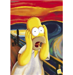 Simpsons - Scream (Poster)