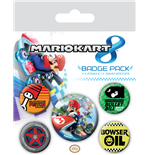 Mario Kart 8 (Badge Pack)