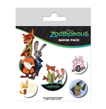Zootropolis (Bunny Best Friend) (Badge Pack)