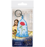 Beauty And The Beast Movie - Enchanted Rose (Portachiavi In Gomma)