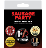 Sausage Party (Wieners) (Badge Pack)