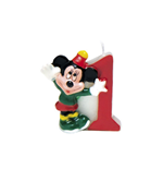 Mickey Party Time - Candelina Numerale N 1