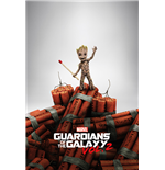 Guardians Of The Galaxy 2 - Groot Dynamite (Poster Maxi 61x91,5 Cm)