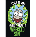 Rick And Morty - Wrecked Son (Poster Maxi 61X91,5 Cm)