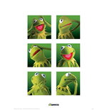 Muppets (The) - Kermit Boxes (Poster 40X30 Cm)
