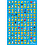 Smiley - Emoticon (Poster Maxi 61X91,5 Cm)