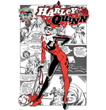 Harley Quinn - Aka Dr. Harleen Francis Quinzel (Poster Maxi 61X91,5 Cm)