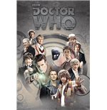Doctor Who - Doctors Through Time (Poster Maxi 61X91,5 Cm)