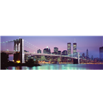 New York Skyline (Poster Da Porta 53X158 Cm)