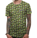 T-shirt Rick and Morty - Repeat Pattern
